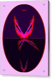 Les Oiseaux De Paradis Acrylic Print