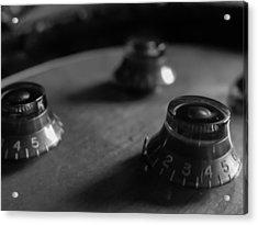 Les Paul Controls Series  Acrylic Print