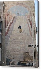 L'escalier By Fabio Rieti Acrylic Print