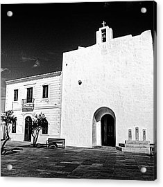 Fortified Church, Formentera Acrylic Print