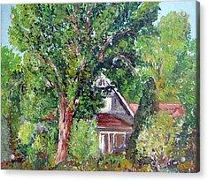 Lesher Homestead Boulder Co Acrylic Print