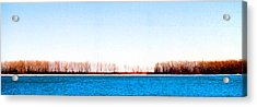 Acrylic Print featuring the photograph Leslie Spit From Cherry Beach 33 Dbae by Lyle Crump