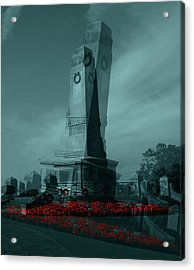 Lest We Forget. Acrylic Print by Keith Elliott