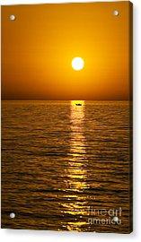 Lesvos Sunset Acrylic Print