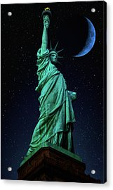 Acrylic Print featuring the photograph Let Freedom Ring by Darren White