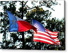 Acrylic Print featuring the photograph Let Freedom Ring by Kathy  White