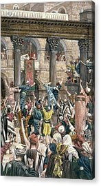 Let Him Be Crucified Acrylic Print by Tissot