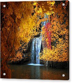 Let It Flow Acrylic Print