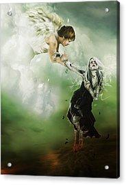 Let Me Go Acrylic Print by Mary Hood