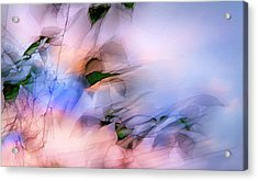 Let The Winds Of The Heavens Dance Acrylic Print by Theresa Tahara