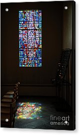 Let There Be Coloured Light... Acrylic Print by Nina Stavlund