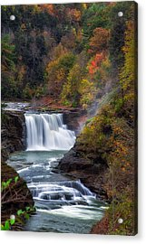 Letchworth Lower Falls 3 Acrylic Print