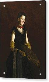 Letitia Wilson Jordan Acrylic Print by Thomas Eakins