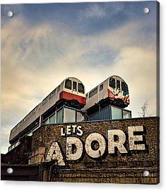 Lets Adore Shoreditch Acrylic Print