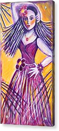 Acrylic Print featuring the painting Let's Dance by Anya Heller