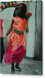 Let's Dance Acrylic Print by Dwight Williams