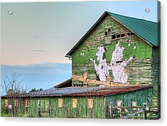 Lets Dance Acrylic Print by JC Findley
