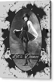 Lets Dance Acrylic Print