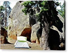 Let's Go Camping Acrylic Print
