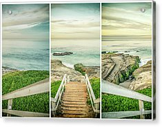 Let's Go Down To Windansea Acrylic Print