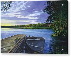 Let's Go Fishing Acrylic Print