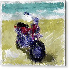 Lets Go For A Ride Acrylic Print by Russell Pierce