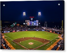 Lets Go Giants Acrylic Print by Rick DeMartile