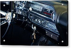 Lets Go Acrylic Print by James Granberry