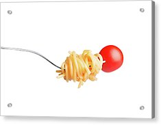 Let's Have A Pasta With Tomato Acrylic Print