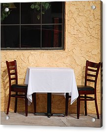 Lets Have Lunch Together Acrylic Print by Susanne Van Hulst