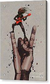 Let's Rock Acrylic Print