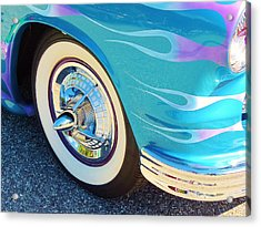 Let's Roll Acrylic Print