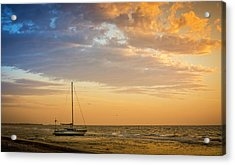 Let's Sail Away Acrylic Print by Marvin Spates