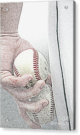 Lets Try Two Acrylic Print by Alan Look