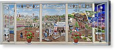 Letter Carriers Picture Window Of Brooklyn Acrylic Print