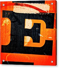 Letter E Acrylic Print