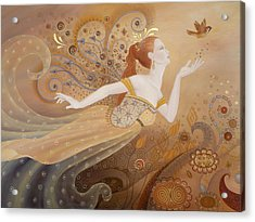 Letting Go Again Acrylic Print by BK Lusk