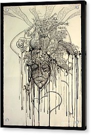 Letting Go Acrylic Print by Rory Canfield