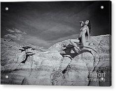 Levitation Acrylic Print by Inge Johnsson