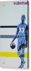 Lew Alcinder Acrylic Print by Justin Farmer