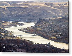 Lewis Clark Valley Acrylic Print by Brad Stinson