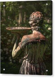 Lexington Bird Lady Acrylic Print