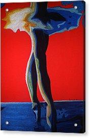 Leyla Acrylic Print by Dorneisha Batson