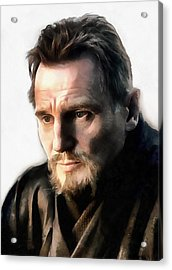 Liam Neeson Acrylic Print