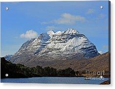 Liatach And Loch Clair Acrylic Print