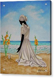 Libations II Acrylic Print by Marcella Muhammad