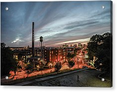 Libby Hill Post Sunset Acrylic Print