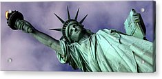 Liberty 2 Acrylic Print by William  Todd