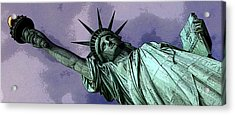 Liberty 3 Acrylic Print by William  Todd
