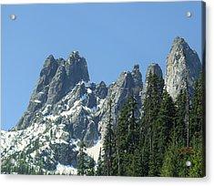 Liberty Bell Mountain Acrylic Print